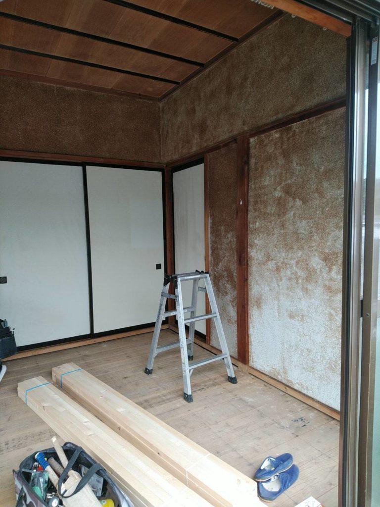 住宅の和室~洋室変更工事