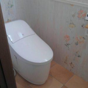 トイレの交換、手洗い器新設