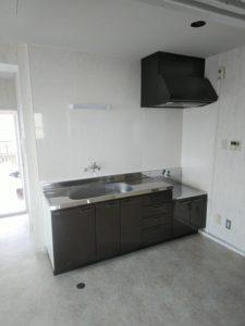 マンションのキッチン交換・内装工事