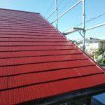住宅の屋根カラーベスト塗装工事
