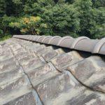 住宅の雨漏り・棟瓦やり替え工事